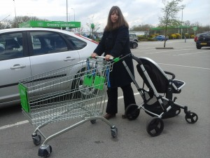 Wendy using a Trolly Buggy Connector